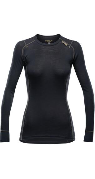Devold W's Wool Mesh Shirt Black